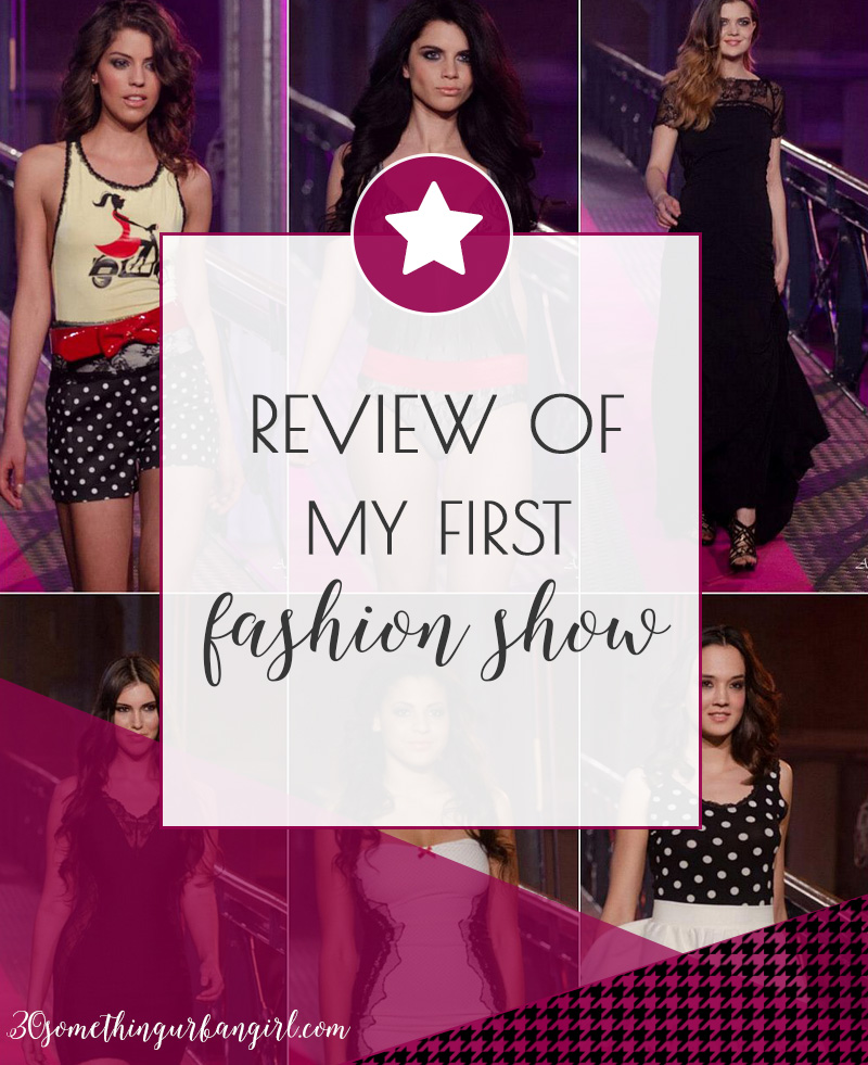 Review of my first fashion show, Sugarbird collection 2013 S/S