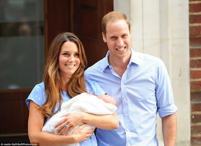 Catherine Middleton and Prince William takes home their baby boy