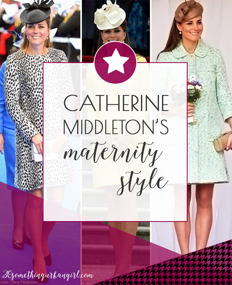 Review of Catherine Middleton, the Duchess of Cambridge maternity style 2013