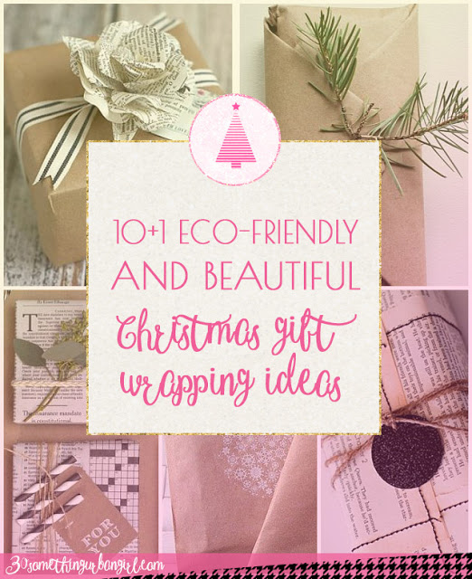 10+1 Eco-friendly, simple and beautiful Christmas gift wrapping ideas