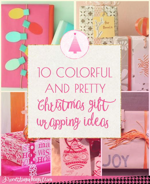 10 lovely and colorful Christmas gift wrapping ideas