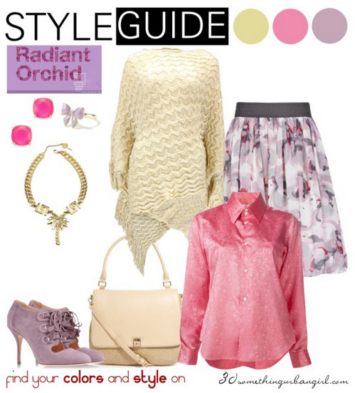 1eacdfbdc9 Radiant Orchid outfit ideas for Light Spring and Light Summer ~ 30  something Urban Girl