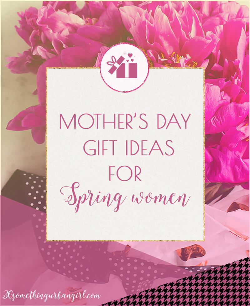 Mother's day gift ideas for Spring seasonal color women