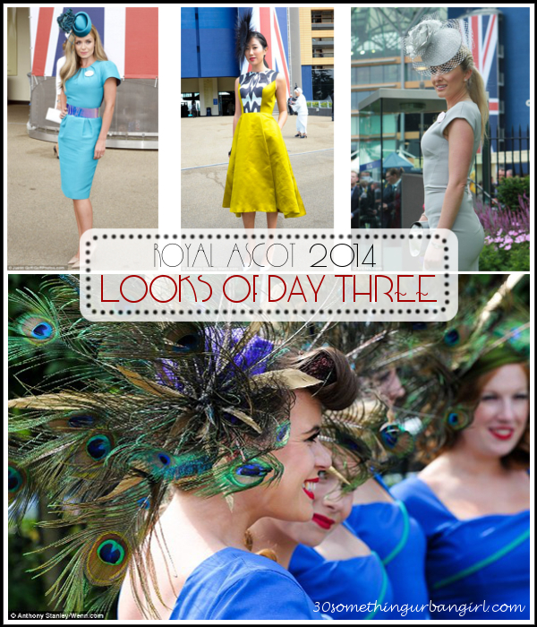 Elegant looks on day 3 of Royal Ascot 2014