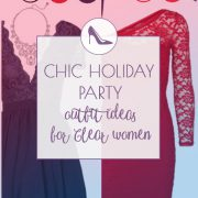 Pretty Holiday Party Outfit for Clear Springs and Clear Winters