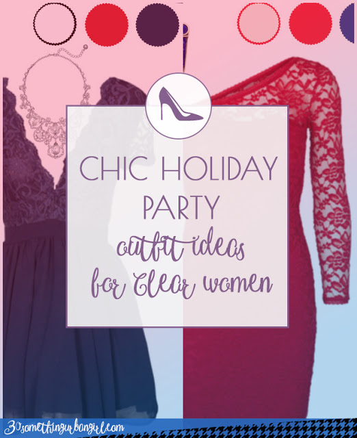 Chic holiday party outfit ideas for Clear Spring and Clear Winter women