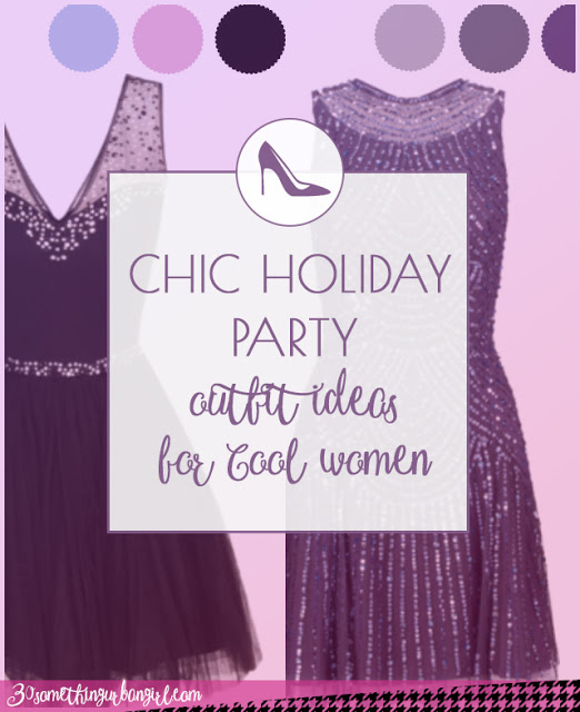 Chic holiday party outfit ideas for Cool Summer and Cool Winter women