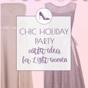 Charming holiday party outfits for Light Springs and Light Summers