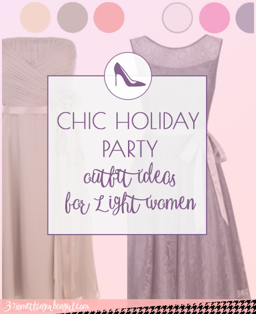 Chic holiday party outfit ideas for Light Spring and Light Summer women