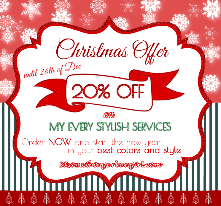 Birthday celebration with 20% Christmas discount! ~ 30 something ...