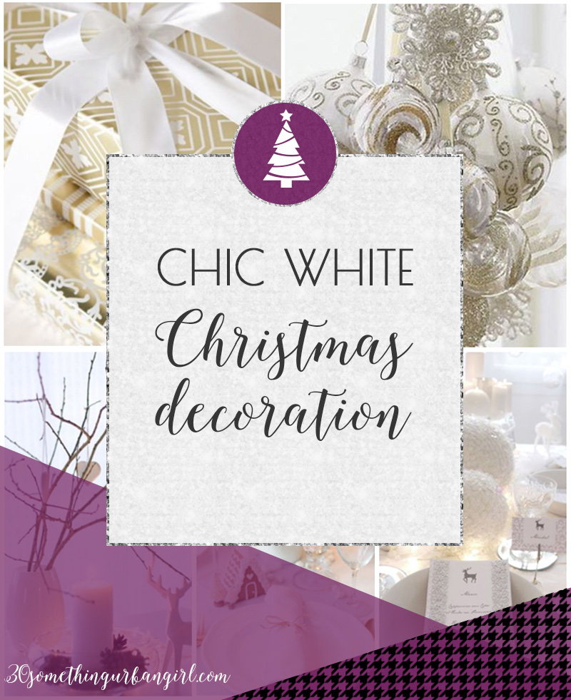 Chic white Christmas home decoration ideas