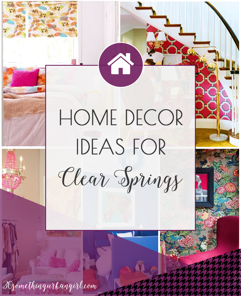 Home decor and color palette ideas for Clear Spring women