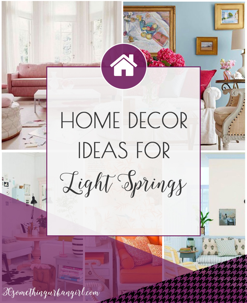 Home decor and color palette ideas for Light Spring women