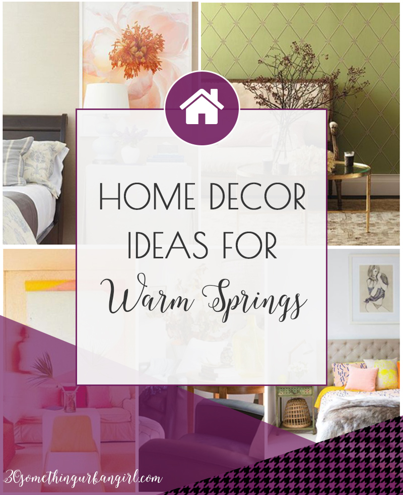 Home Decor And Color Palette Ideas For Warm Spring Women