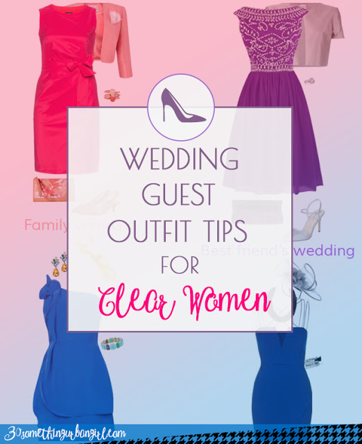 Wedding guest outfit ideas for Clear Spring and Clear Winter women