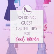Wedding guest outfit ideas for Cool Summer and Cool Winter women