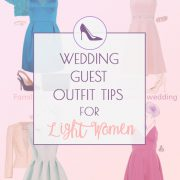 Wedding Guest Outfit Ideas for Light Spring and Light Summer Women