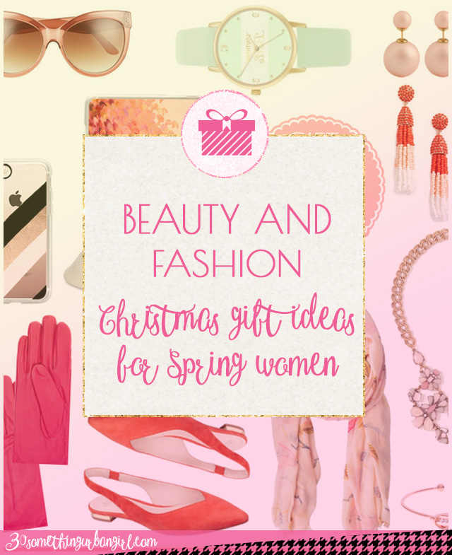 Beauty and fashion gift ideas for Christmas for Spring seasonal color women