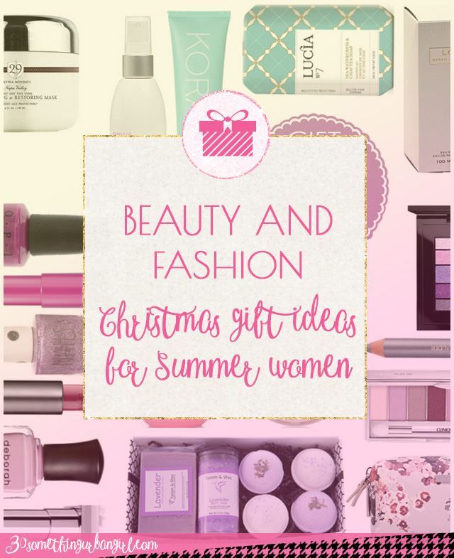 Beauty and fashion gift ideas for Christmas for Summer seasonal color women