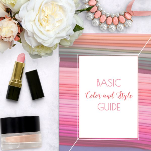 Basic Color and Style Guide shop promo photo
