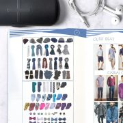 Basic Color and Style Guide for Men shop promo photo with outfit tips