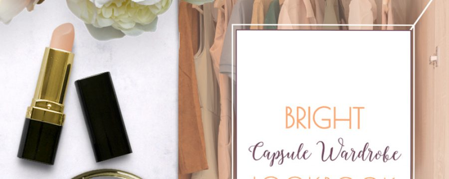Bright Capsule Wardrobe Lookbook
