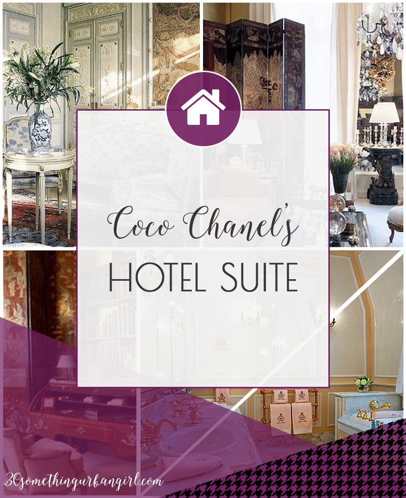 Review of Coco Chanel's hotel suite home