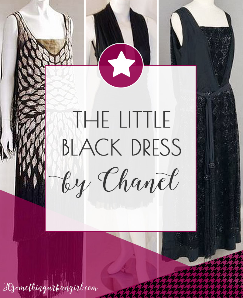 c507a0e56f066 The Chanel Little Black Dress ~ 30 something Urban Girl