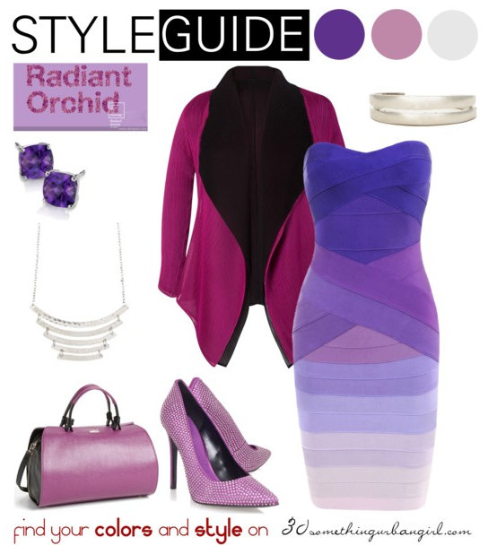 1b0ef7dfdcb2 Chic Radiant Orchid outfit ideas for Cool Summer and Cool Winter